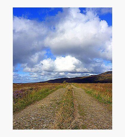 The Irish Bog Road Photographic Print