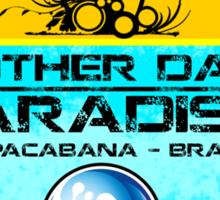 Copacabana Beach Brazil Sticker
