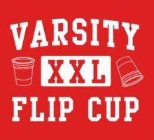 Varsity Flip Cup  by partyanimal