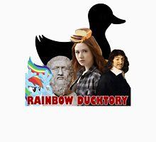 Rainbow Ducktory Unisex T-Shirt