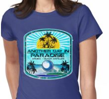 Aruba Nice Town Womens Fitted T-Shirt