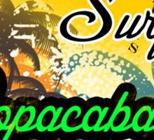 Brazil Fine Beach Sticker