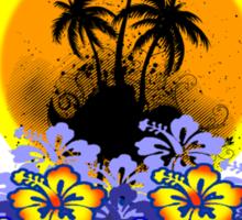 Florist Summer Island Sticker
