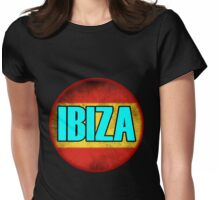 IBIZA Party Is Not Yet Over Womens Fitted T-Shirt