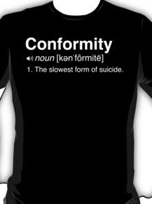 Conformity Definition T-Shirt
