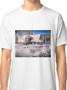 Sunny day after a snow storm  Classic T-Shirt