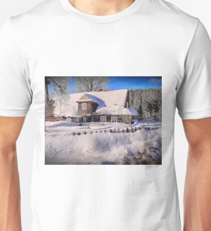 Sunny day after a snow storm  Unisex T-Shirt