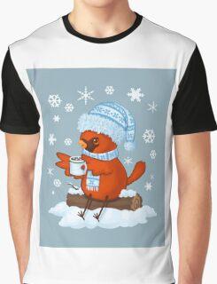 Christmas Cardinal Graphic T-Shirt