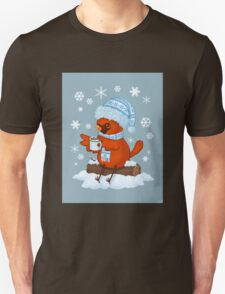 Christmas Cardinal Unisex T-Shirt