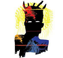 Abstract Basquiat Photographic Print