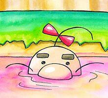 Hot Springs Mr Saturn by Katie Clark