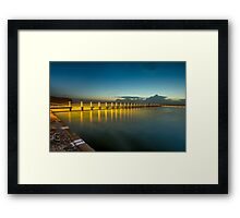 Narrabeen Beach Rock Pool Framed Print