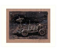 Lunar Rover  Art Print