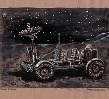 Lunar Rover  by Bob Bello