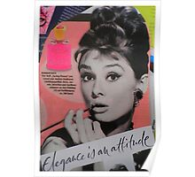 Elegance is an attitude  Poster