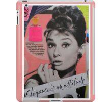 Elegance is an attitude  iPad Case/Skin