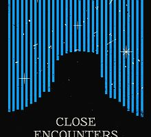 Close Encounters of the Third Kind Minimal Movie Poster by andyfielding