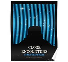Close Encounters of the Third Kind Minimal Movie Poster Poster