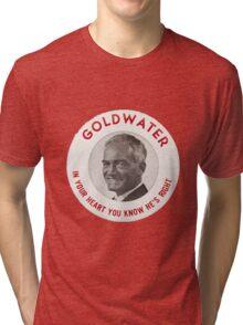 Barry Goldwater Tri-blend T-Shirt