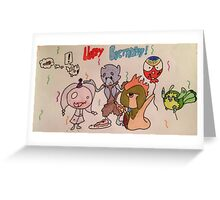 Happy birthday fakemon Greeting Card