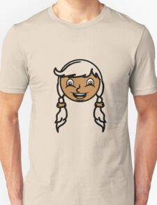 face girl T-Shirt