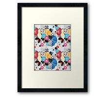 graphic pattern abstraction  Framed Print