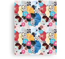 graphic pattern abstraction  Canvas Print
