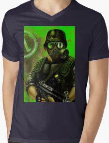 Opposing Forces Mens V-Neck T-Shirt
