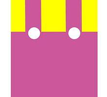 Wario Suspenders Ver. 2 Iphone by counteraction