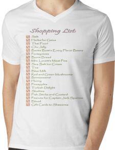 Geek Shopping List Mens V-Neck T-Shirt
