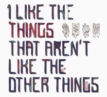 The Things I Like Kids Tee