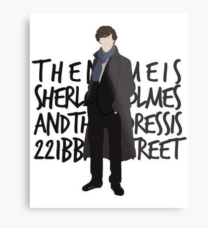 Sherlock Metal Print