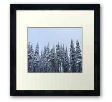 Mountain Trek Framed Print