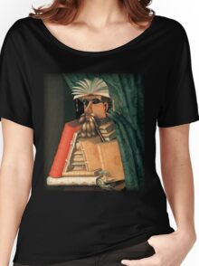 Giuseppe Arcimboldo - The Librarian Women's Relaxed Fit T-Shirt