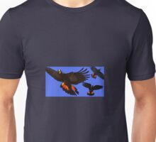 3 cockatoos  Unisex T-Shirt