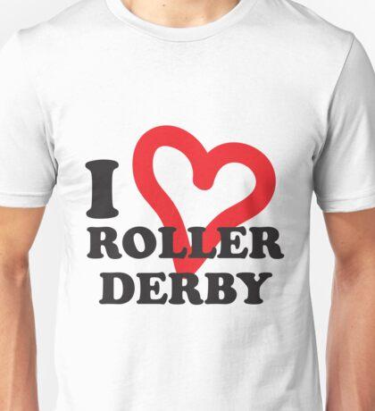 I <3 Roller Derby! Unisex T-Shirt