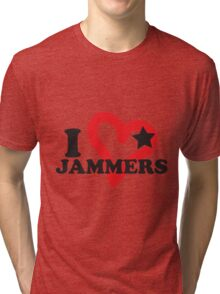 I <3 Jammers Tri-blend T-Shirt