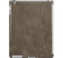 Brown leather texture iPad Case/Skin