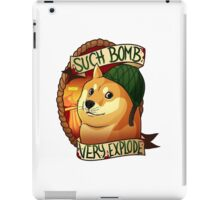 Such Bomb, Very Explode, WOW iPad Case/Skin