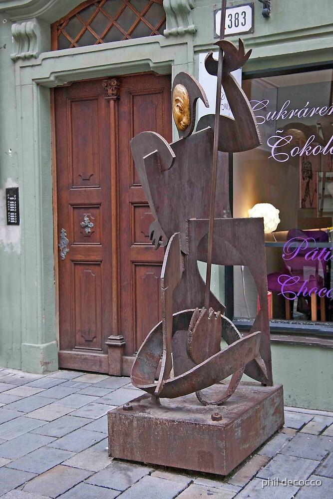 Public Art Sculpture by phil decocco