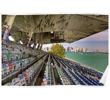 Miami Marine Stadium Poster