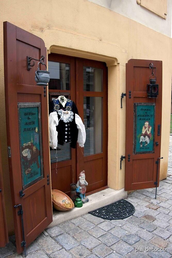 Austrian Shopfront by phil decocco
