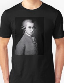 Wolfgang Amadeus Mozart | The Wighte Collection Unisex T-Shirt