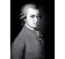 Wolfgang Amadeus Mozart | The Wighte Collection Photographic Print