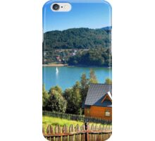 Summer on the lake iPhone Case/Skin