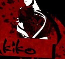 The Yukiko Yakuza Sticker