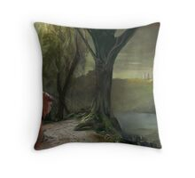 Labyrinth, Ludo, the bog of eternal stench Throw Pillow