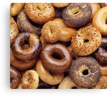 It's All About That Bagel Canvas Print
