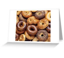It's All About That Bagel Greeting Card