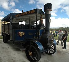 Foden Traction Engine, Tyabb Airshow, Australia 2012 by muz2142